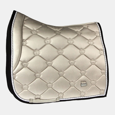 PS Monogram Dressage Saddlepad in Prosecco