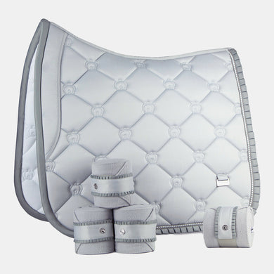 PS of Sweden Ruffles Dressage Set in Silver