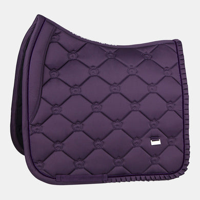 PS of Sweden Ruffles Dressage Saddlepad in Plum
