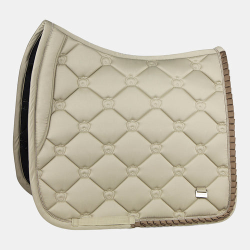 PS of Sweden Ruffles Dressage Saddlepad in Sand