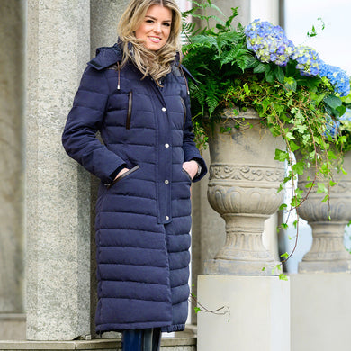 PS of Sweden Vanessa Winter Coat in Deep Sapphire