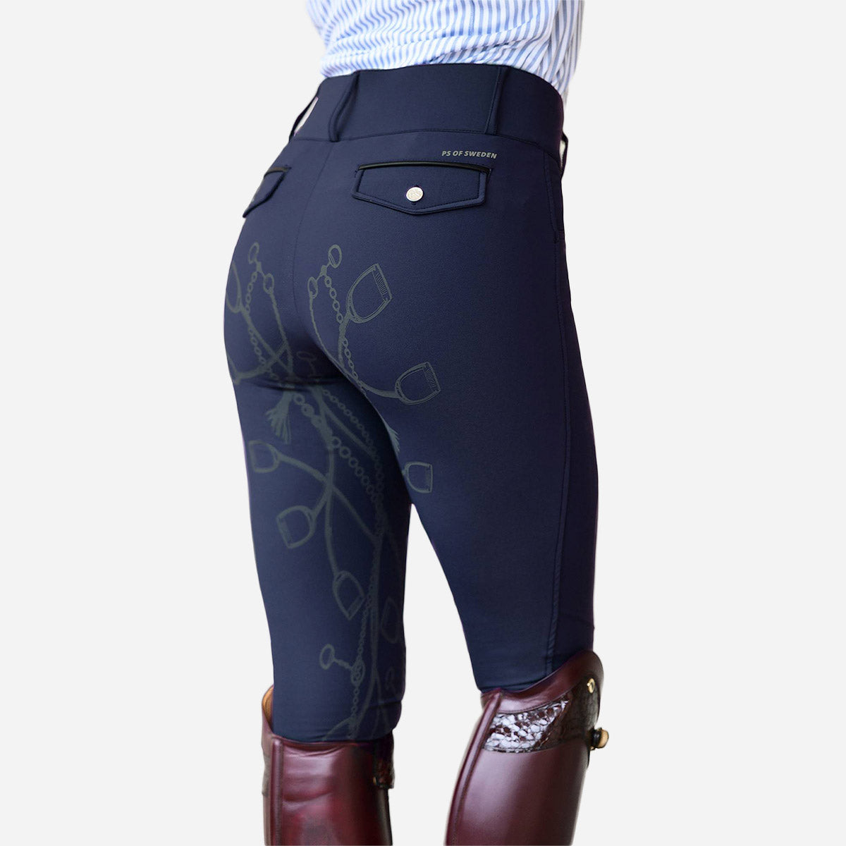 PS of Sweden Zoe FSS Breeches in Deep Sapphire
