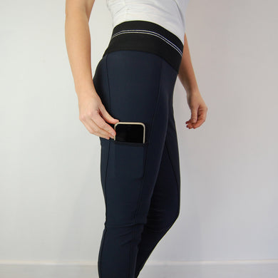Pikeur Gia Grip Athleisure FSS Breeches in Night Blue