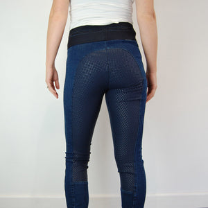Pikeur Ivana Jeans Athleisure FSS Breeches in Denim