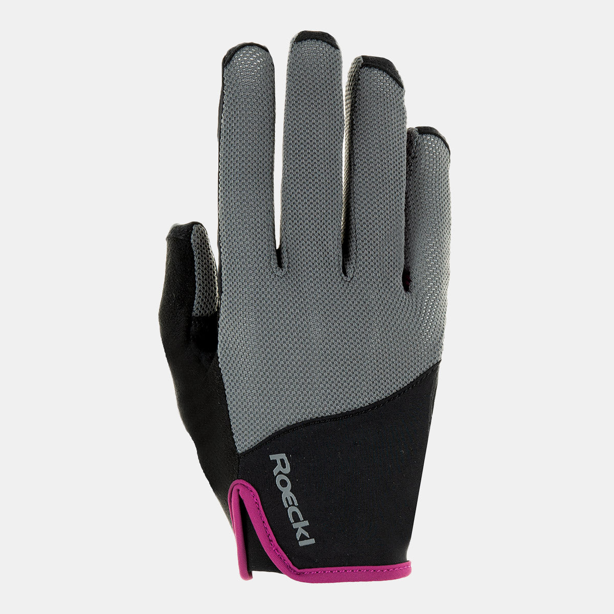 Roeckl Lynn Ladies Riding Glove in Anthracite