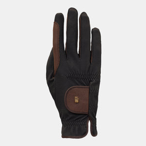 Roeckl Malta Winter Glove in Black & Mocha