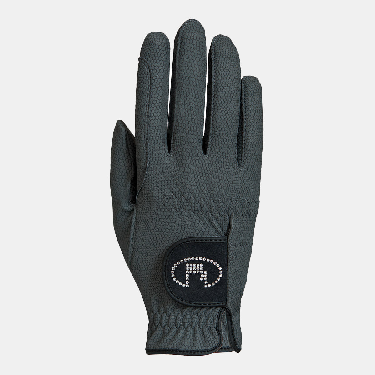 Roeckl Lisboa Summer Riding Gloves in Anthracite