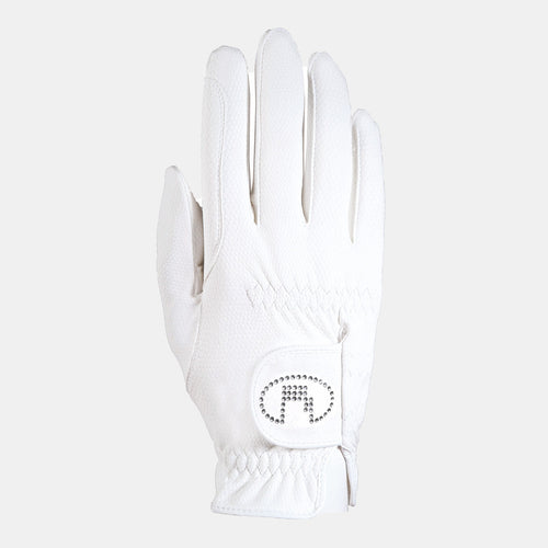 Roeckl Lisboa Summer Riding Gloves in White