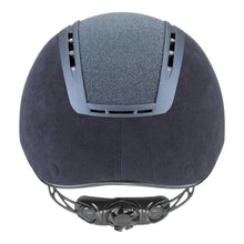 Uvex Suxxeed Glamour Riding Hat in Blue - Back