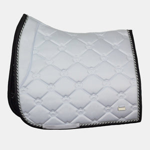 PS of Sweden Monogram Dressage Saddlepad in Winning Round White