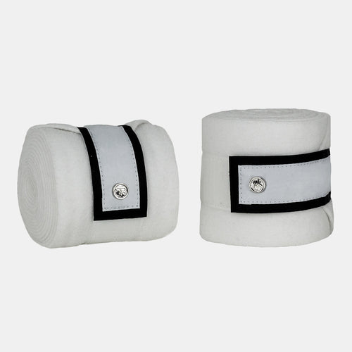 PS of Sweden Monogram Fleece Bandages in Winning Round White
