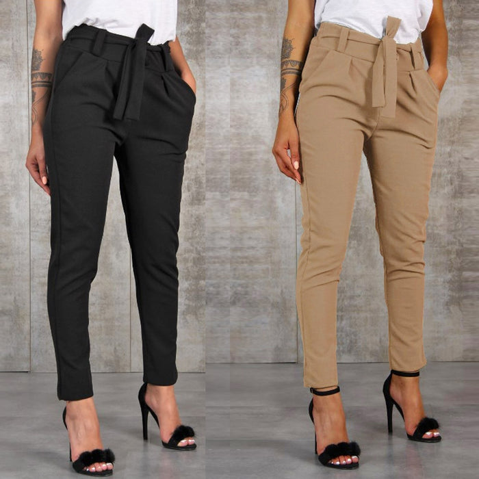 FERRA - High Waist Pants - BohoFestival