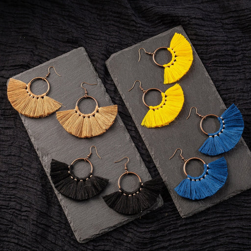 ETHNIC - Tassel Boho Earrings - BohoFestival