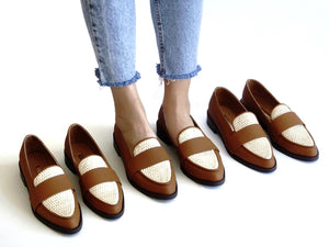 Michelle Weaving Loafers