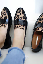 Load image into Gallery viewer, Michelle Animal Print Loafers