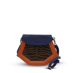 Mini Franca 3 - Blue/Orange