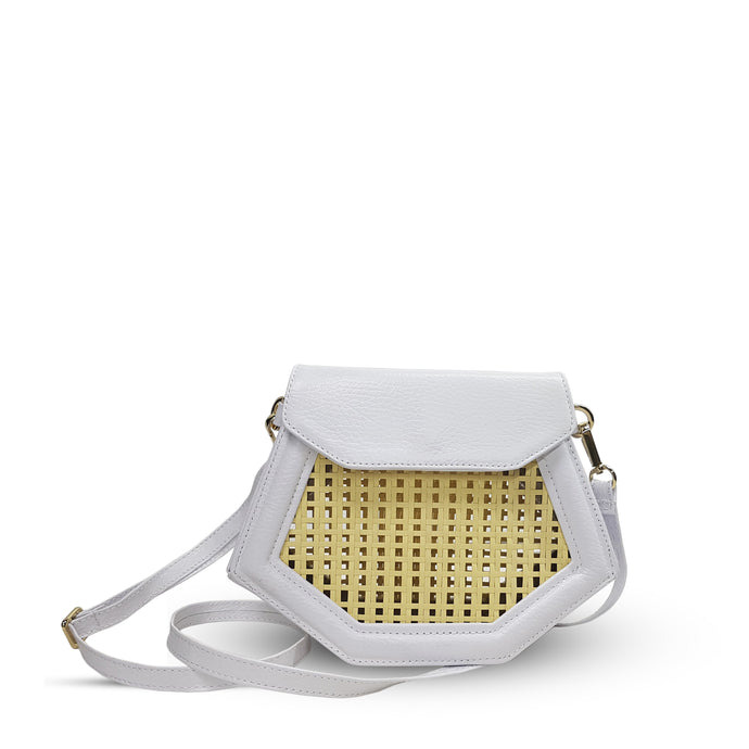 Nancy clutch - White