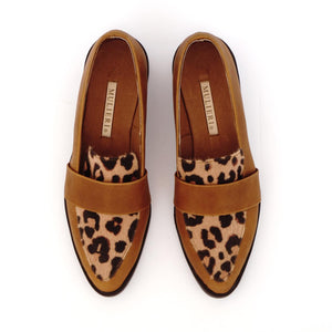 Michelle Animal Print Loafers