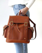 Load image into Gallery viewer, Burnt Orange Backpack