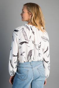 Monarch Grove blouse - VILDNIS