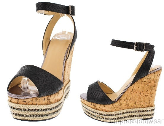 MARTY SNAKE CHAIN WEDGES