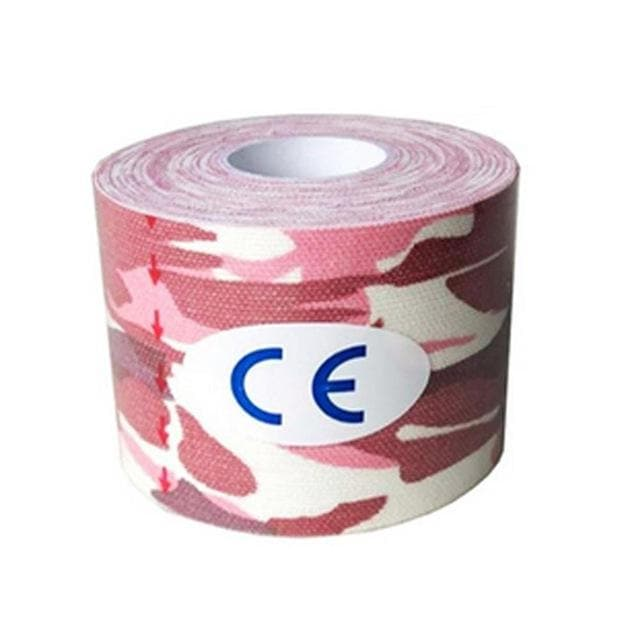 Muscle Engineering Procircle Elastic Tape Pink Camo