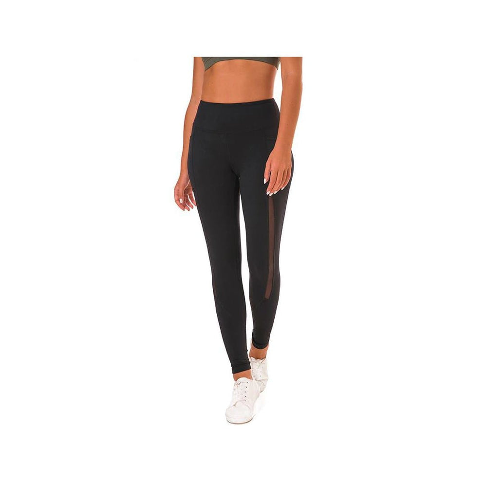 Muscle Engineering Full Length Active Leggings 1.0 Front Full Image