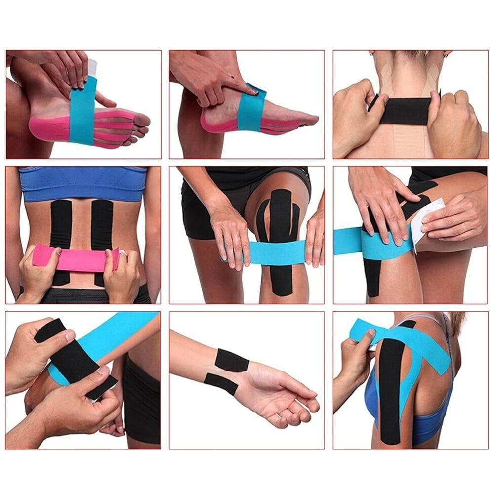 Muscle Engineering Procircle Elastic Tape How To Use Guide