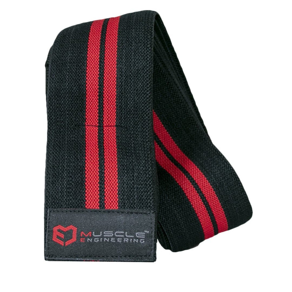 Muscle Engineering Gorilla Knee Strap Front Open Image