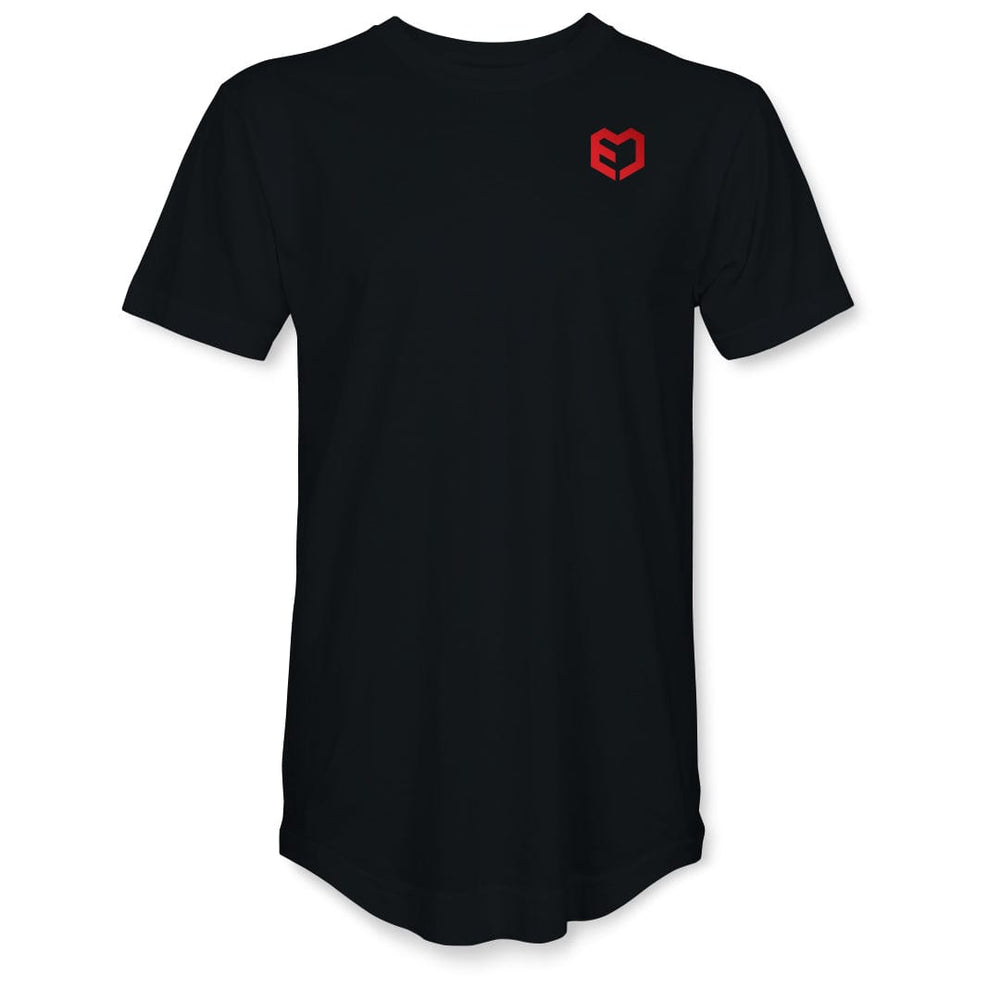 All Rounder Jet Black Training T-Shirt