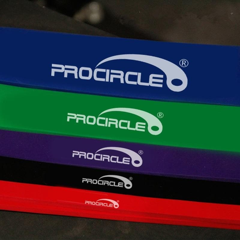 Muscle Engineering Procircle Resistance Band 5 Bands Close Image
