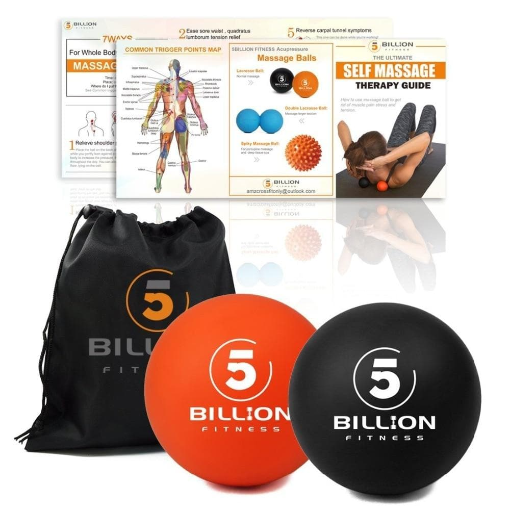 Massage Ball Set - Muscle Relaxation - Massage - Recovery