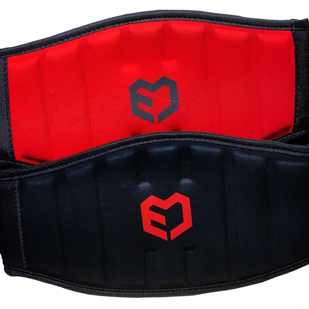 Muscle Engineering Red/Black Strength Training Belt
