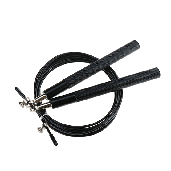 Ball Bearing Skipping Rope Black