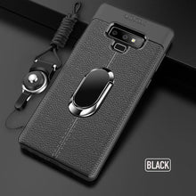 Soft Silicone Case With Magnetic Car Holder for Samsung Galaxy Note 9