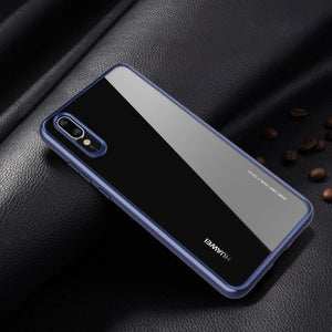 Transparent Silicone Case For Huawei P20, P20 Lite. P20 Pro