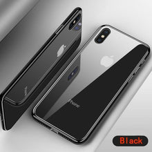 Luxury Tempered Glass Case For iPhone X / XS / XS MAX / XR