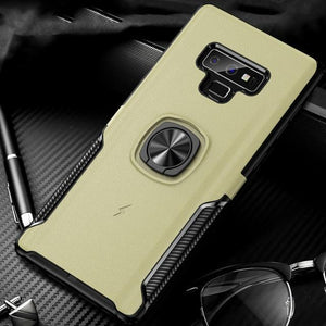 New Luxury Cases with Finger Ring & Magnetic For Car Holder for Samsung Galaxy Note 9