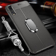 Soft Silicone With Magnetic Car Holder Case for Huawei P20 / P20 Pro / Mate 10 / Mate 10 Pro / Mate 20 / Mate 20 Pro