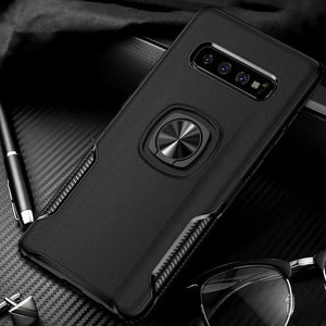 New Luxury Cases with Finger Ring & Magnetic For Car Holder for Samsung S10 / S10 Plus / S10e
