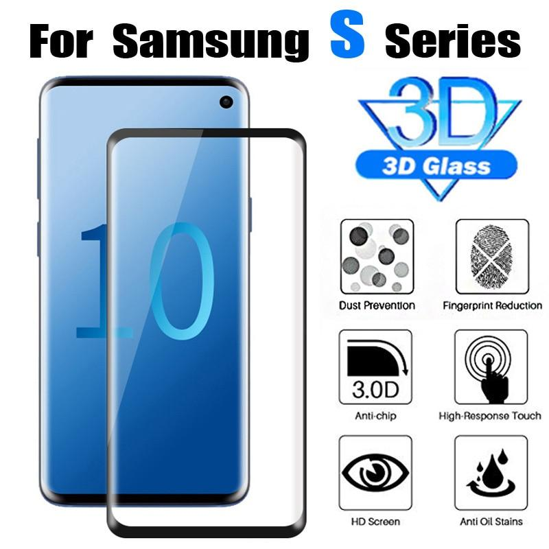3D Protective Glass on for samsung galaxy S10 / S10 Plus / S10e