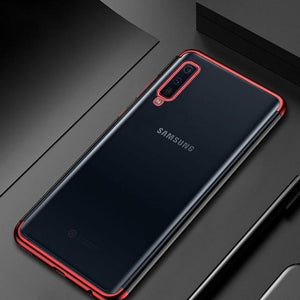 Ultra Thin Transparent TPU Case For Samsung Galaxy A9 2018