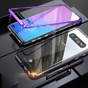 360 Degree Full Protection Magnetic Case For Samsung Galaxy S10 / S10 Plus