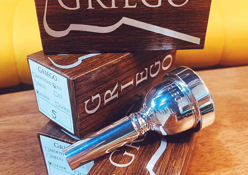 Griego New York Large Bore Trombone Mouthpieces