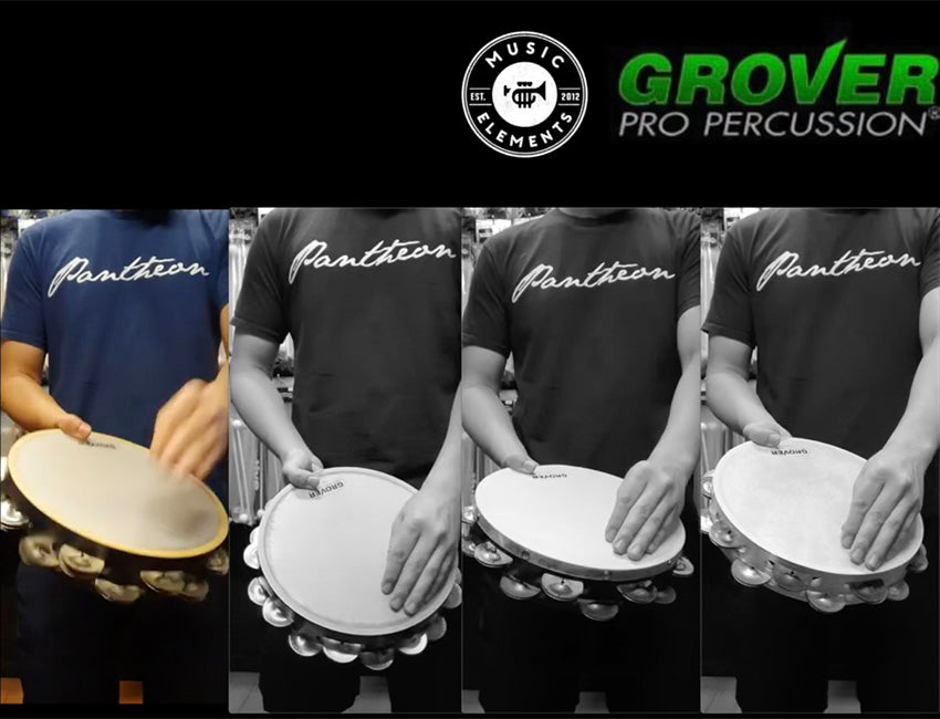 Demo of Grover Pro Tambourines - Hear the Difference!