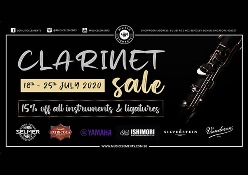 ME Clarinet Sale (18th to 25th July)