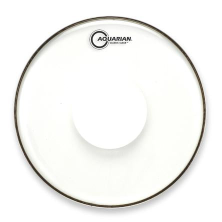 Aquarian - Classic Clear Series Power Dot Single Ply Batter Drum Heads-Percussion-Aquarian-Music Elements
