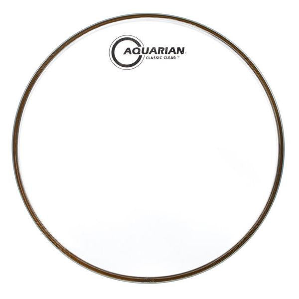 Aquarian - Classic Clear Series Single Ply Resonant Drum Heads-Percussion-Aquarian-Music Elements