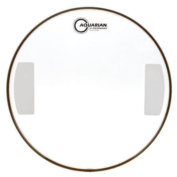 Aquarian - Hi-Performance Series Single Ply Clear Resonant Snare Drum Heads-Percussion-Aquarian-Music Elements