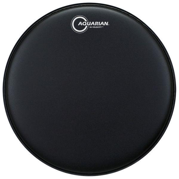 "Aquarian - Hi-Velocity Series Reverse Power Dot Coated Snare Drum Heads-Percussion-Aquarian-Black-13""-Music Elements"